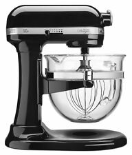 KitchenAid KF26M2XOB 6-Qt. Professional 600 Design Series with Glass Bowl Black