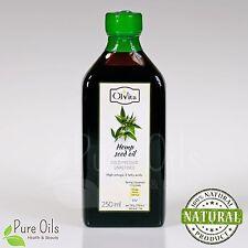 Hemp seed oil, cold-pressed and crude Ol'Vita 250 ml