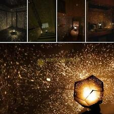Romantic Astro Planet LED Starry Night Sky Projector Lamp Star light  Kids Gifts