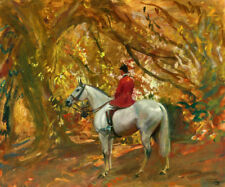 Art Print Hunting Scenes oil painting HD Printed on Canvas 16x20 inch P1107