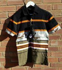 Givenchy Men's Stripe Camo Polo Shirt - Rare - new/tags - Size Small - Italy