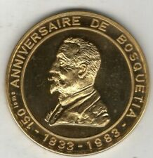 New Listing1983 Belgium Medal Issued for the 150th Anniversary of Bosquetia