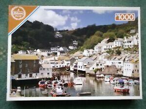1000 Piece A Falcon Puzzle Vista Polperro Harbour Cornwall