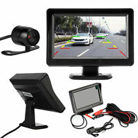 2017 4.3Inch TFT LCD Van Rear View System Monitor + Night Vision Reverse Camera