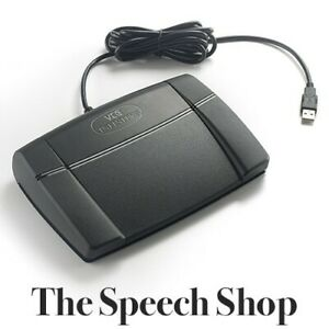 Infinity IN-USB-3 Digital Transcription Foot Pedal Express Scribe Pro Compatible