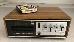 Working Amerex AC-500 Stereo 8 Track Player with 1 Tape
