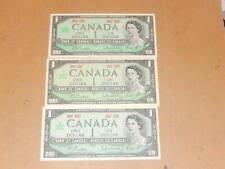 Vintage Centennial of Canadian Confederation 1867-1967 $1 Dollar Lot of 3