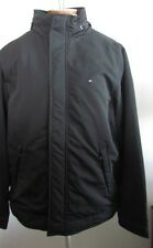 NWT Tommy Hilfiger Men's Winter Jacket Anorak with Hood Black Size S