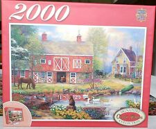 Master Pieces 2000 Piece Puzzle Chuck Pinson Reflections On Country Living 39x27