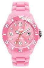 """ICE Pink Silicone Strap Bracelet """"Forever"""" 43mm Unisex Watch #101971"""