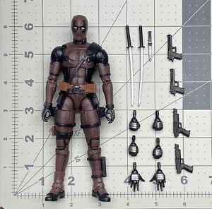 "1/12 or 6"" scale Marvel Legends MCU Movie series Deadpool Burnt Dusty Amazon exc"