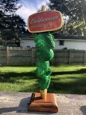 BUDWEISER BEER TAP HANDLE HOPS WILLAMETTE VALLEY! VINTAGE!!! MUST HAVE!