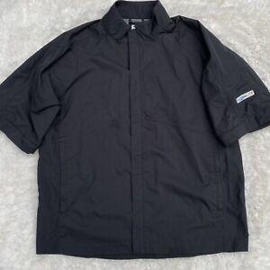 Footjoy Dryjoys HydroLite Jacket Black Men's XL Full Zip Golf Windbreaker SS