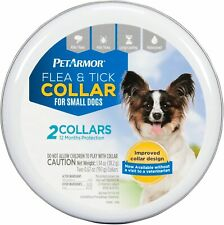 PETARMOR Pet Armor 2 Count Flea & Tick Collar for Small Dogs Waterproof 12 month