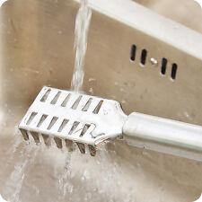 Escalador de Pescado de Acero Inoxidable-balanzas Raspador Limpiador Remover Herramienta pelador de cocina