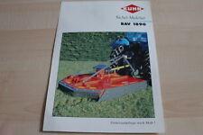 128256) Kuhn Sichel-Mulcher BAV 1890 Prospekt 01/2000