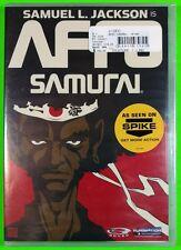Samuel L. Jackson is Afro Samurai DVD Spike TV Anime Brand New Factory Sealed