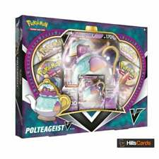 Pokemon Polteageist V Box Collection | New and Sealed | Sword & Shield Packs