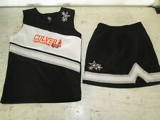 Girls Medium Culver Cavaliers Cheer Leading Outfit, *see details*