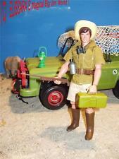 Big Jim als Tierfänger / Wildhüter - SAFARI Tourist - Animal Catcher - Mattel
