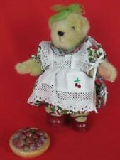 Muffy Vander Bear Nabco Cherry Pie 1982 All Original Outfit Tagged 1992