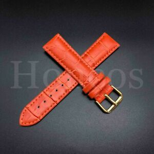 12mm-22mm Premium Genuine Leather Watch Band Strap Bracelet for Fossil Watch USA
