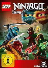LEGO NINJAGO - SEASON 7 part 1  -  DVD - PAL Region 2 - New