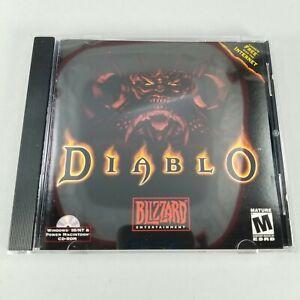 Diablo 1 (PC, CD-ROM, 1998) Complete in Case