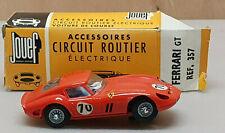 Jouef Circuit Routier Ferrari GT (ferrari GTO 250) N°70 +boite d'origine Ref 357