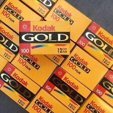 Pellicule Périmée 35mm - Kodak Gold 100 - 12 poses - Couleur - Péremption 2002