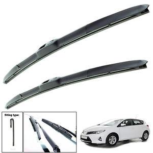 "Toyota Auris 2012-on hybrid wiper blades set of front 26"" 14"""