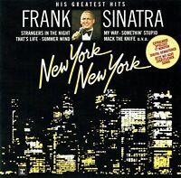 (CD) Frank Sinatra – New York New York: His Greatest Hits -  Something Stupid