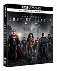 Zack Snyder's Justice League (2 4K Ultra HD + 2 Blu-Ray Disc)