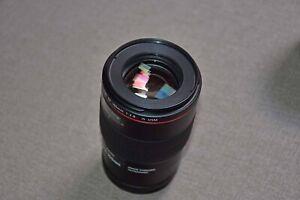 Canon EF L 100 macro f2.8 Lens