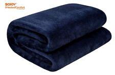 Sojoy 12V Electric Blanket Heated Car Truck Blanket Hi/Low Heat&Time Controller