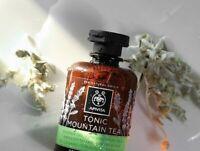 APIVITA mountain tea shower gel tonic 89% natural ingredients Essential Oils