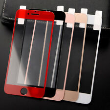 3D 9H Tempered Glass Full Cover Screen Protector Film For iPhone X 7 8 6 Plus