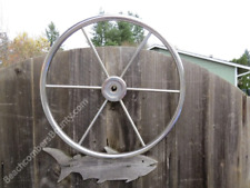Authentic 20 inch Stainless Steel Boat Wheel -(XR2-979)