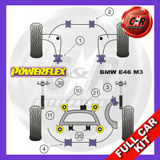 BMW E46 M3 CSL (99-06) Powerflex Complete Bush Kit