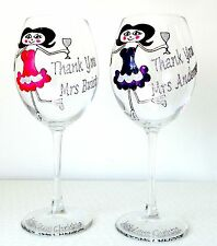 Personalised Best Teachers Leaving Thank You Gift Large Wine Glass Boxed Glitter