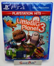 LITTLE BIG PLANET 3 PS4 PLAYSTATION 4 GIOCO NUOVO PER Italiano BAMBINI X DA CON