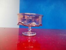 """""""GLASS"""" CRANBERRY BOWL FOR A DOLLS HOUSE"""