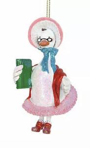 Gisela Graham Resin Old Mother Goose Fairytale Christmas Tree Decoration 12538