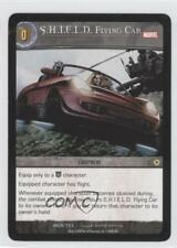 2008 VS System Marvel Universe Booster Pack Base #MUN-123 SHIELD Flying Car 3v2
