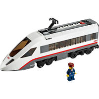 Lego City High-Speed Passenger Train Engine (No Power Functions) from 60051 NEW
