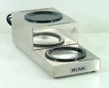 Bunn Ws2 Coffee Carafe Pot Warmer (Rear Switches)