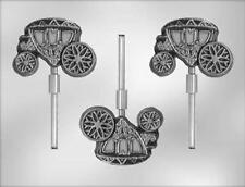 Coach Carriage Chocolate Lollipop Candy Mold from CK  #15351 - NEW