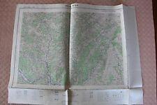 Carte de France 1/25000 Privas n° 5-6. Institut Géographique National. 1957