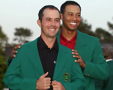 Mike Weir & Tiger - 2003 Masters,  8x10  Color Photo