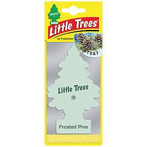 2 x Little Tree Magic Tree FROSTED PINE Scent Car Air Freshener Freshner 2D